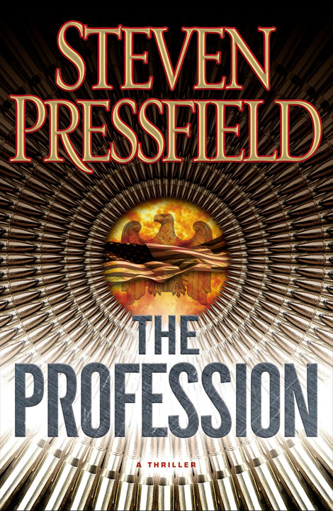 The cover for Steven Pressfields book, The Profession, in stores on June 14, 2011