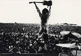 "The Who at Woodstock. ""Who … who … who are you?"""