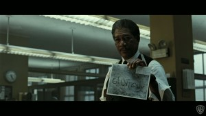 Morgan Freeman in Se7en