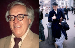 Ray Bradbury and David Bowie. Bradbury image credit: Alan Light. Bowie image credit: www.DavidBowie.com