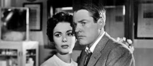 "Dana Wynter and Kevin McCarthy in ""Invasion of the Body Snatchers"""