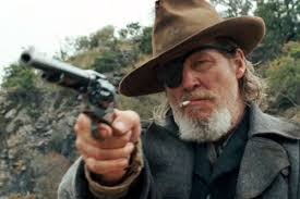 "Jeff Bridges as Rooster Coburn in ""True Grit."""