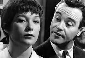 "Shirley MacLaine and Jack Lemmon in ""The Apartment"""