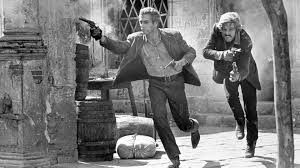 "Paul Newman and Robert Redford saying it in subtext in ""Butch Cassidy and the Sundance Kid"""