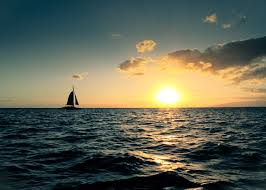"""Setting sail for Tahiti. The inciting incident is the """"Call to Adventure"""""""