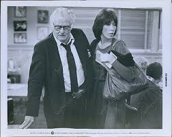 "Art Carney and Lily Tomlin in ""The Late Show"""