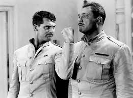 "Cary Grant and Victor McLaglen in ""Gunga Din."""