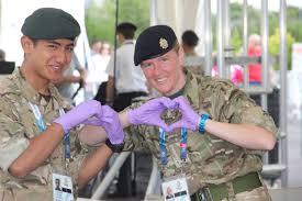 Prince Harry visits the contemporary Gurkhas, 2016