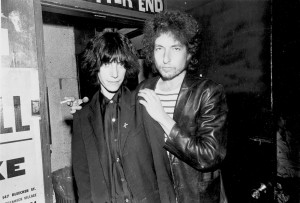 Patti and Bob back in the day (actually '75, when they first met)