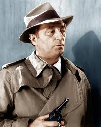 "Robert Mitchum (100 years old on August 8) in ""Farewell, My Lovely"""
