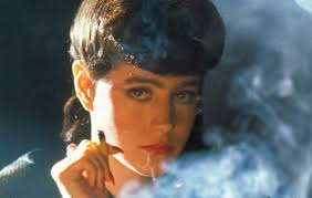 "Sean Young in ""Blade Runner"" 1982"