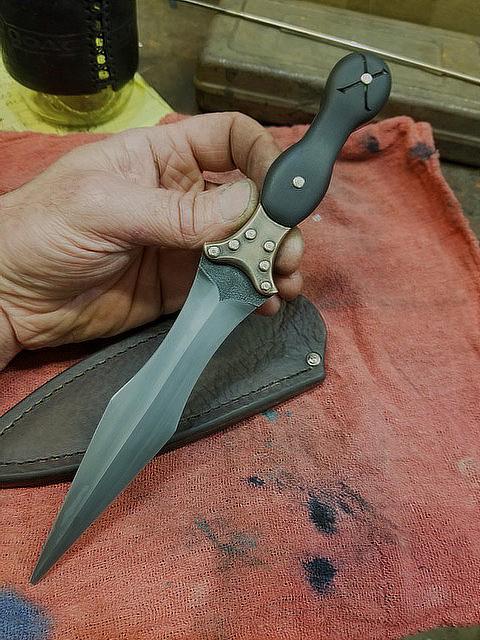 finished dagger